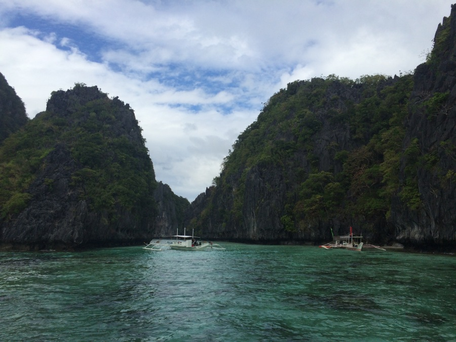 The Bacuit Archipelago around El Nido, Palawan.
