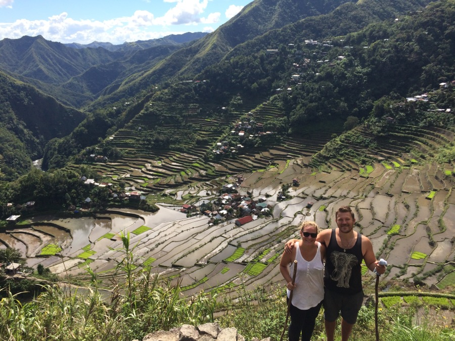 Ifugao rice terraces, a UNESCO World Heritage Site.