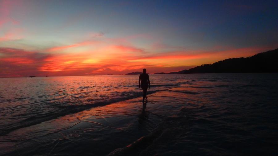 Another gorgeous Thai sunset on Koh Lipe.