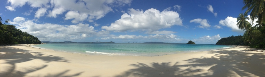 SO many beautiful, nearly deserted beaches just like this.